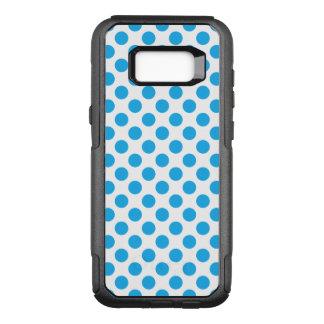 Blaue Tupfen OtterBox Commuter Samsung Galaxy S8+ Hülle