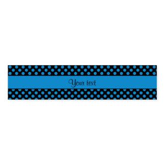 Blaue Tupfen Serviettenband