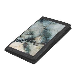 Blaue und schwarze Quarz-Mineral-Beschaffenheit