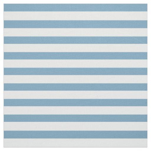 Blaue und weiße kleine Streifen Carolinas Stoff