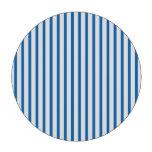 Blaue und weiße Streifen Poker Jetons