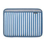 Blaue und weiße Streifen Sleeves Fürs MacBook Air
