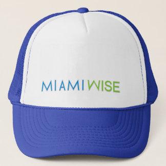 Blaue und weißes Mütze