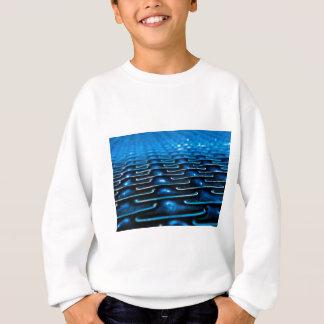 Blaue Unendlichkeit Sweatshirt