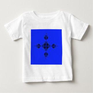 Blaue Verzierungen Baby T-shirt