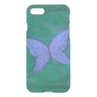 Blaue violette lila grüne Flügel des iPhone 8/7 Hülle