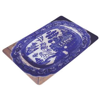 Blaue Weide-Fußmatte Bodenmatte