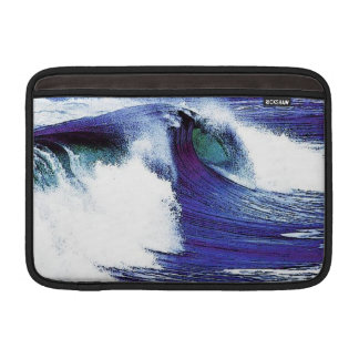 Blaue Welle MacBook Sleeve