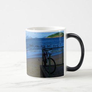 Blaue Welle vermisst Sie Tasse