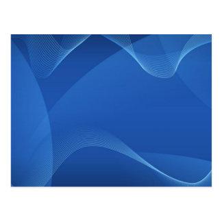 Blaue Wellen Postkarte