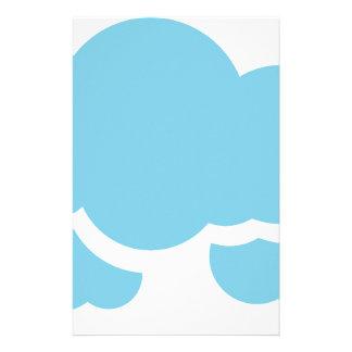 Blaue Wolken Briefpapier