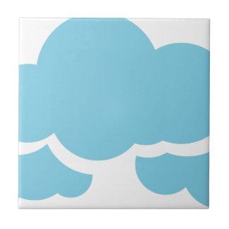 Blaue Wolken Keramikfliese