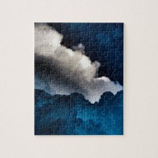 Blaue Wolken Puzzle