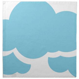 Blaue Wolken Serviette