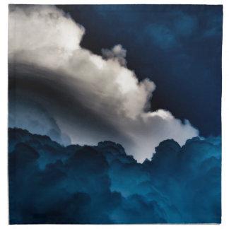 Blaue Wolken Stoffserviette