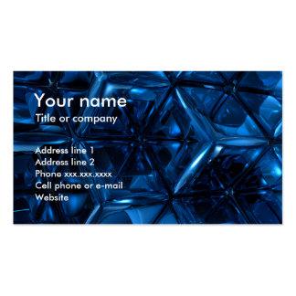 Blaue Würfel Visitenkarten