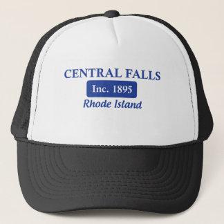 Blaue Zentrale fällt Rhode Island Truckerkappe