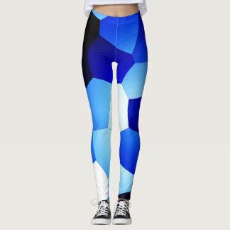Blaue Zerstampfung! Leggings