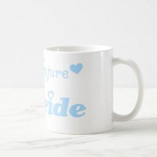 Blaue zukünftige Braut Kaffeehaferl