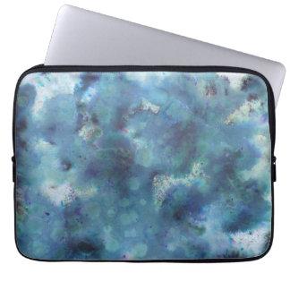 Blaue Zusammenfassung Computer Schutzhüllen