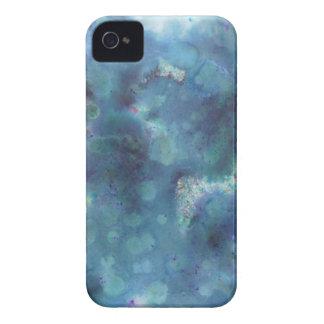 Blaue Zusammenfassung iPhone 4 Case-Mate Hüllen