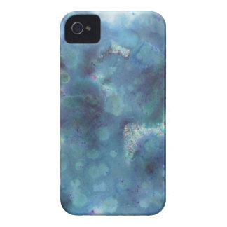 Blaue Zusammenfassung iPhone 4 Cover