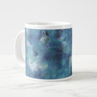 Blaue Zusammenfassung Jumbo-Tasse