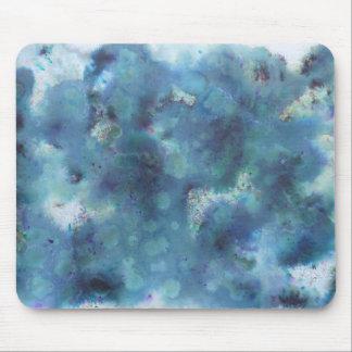 Blaue Zusammenfassung Mousepads