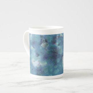 Blaue Zusammenfassung Porzellantassen