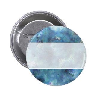 Blaue Zusammenfassung Runder Button 5,7 Cm