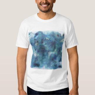 Blaue Zusammenfassung T Shirts
