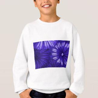 blauen Gänseblümchens Sweatshirt