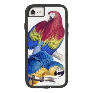 Blauen Macaw-Papageien-Vögel iPhone 7 Scharlachrot Case-Mate Tough Extreme iPhone 8/7 Hülle