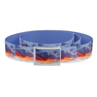 Blauen orange Roy der Wolken-9 Fave Gürtel