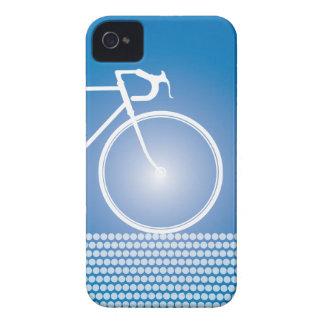 Blauer abstrakter Fahrrad iPhone 4 Kasten Case-Mate iPhone 4 Hülle