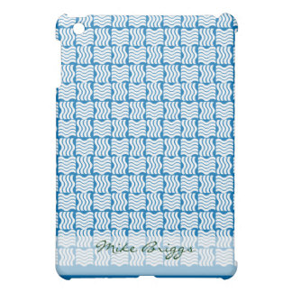 blauer abstrakter Wasser Entwurf iPad Mini Hülle