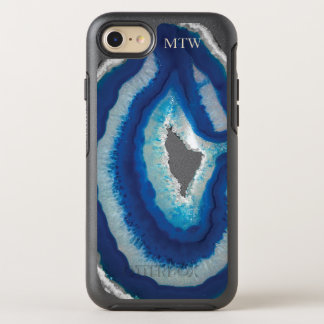 Blauer Achat OtterBox Symmetry iPhone 8/7 Hülle