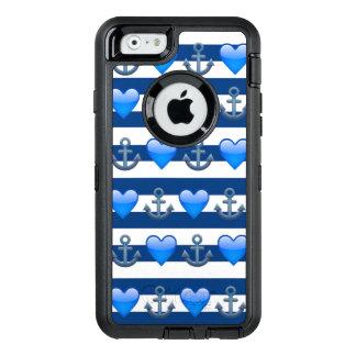 Blauer Anker Emoji iPhone 6/6s Otterbox Kasten OtterBox iPhone 6/6s Hülle