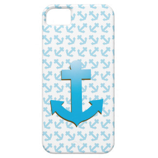 Blauer Anker iPhone 5 Hülle