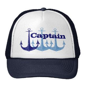 Blauer Anker Kapitän Cap