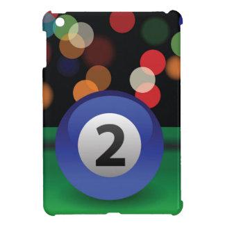 blauer Ball iPad Mini Hülle