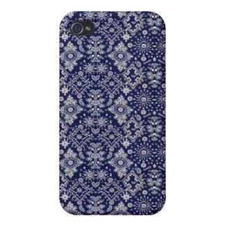 Blauer Bandana-Speck-Kasten Etui Fürs iPhone 4