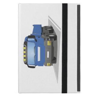 blauer Baustellen LKW iPad Mini Etuis
