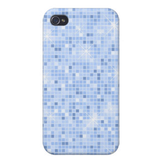 Blauer *Bling Bling* iPhone4 Kasten iPhone 4 Etuis