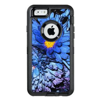 Blauer Blumen OtterBox Kasten OtterBox iPhone 6/6s Hülle