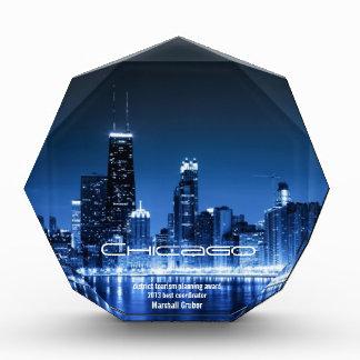 blauer Chicago-Preis Auszeichnung