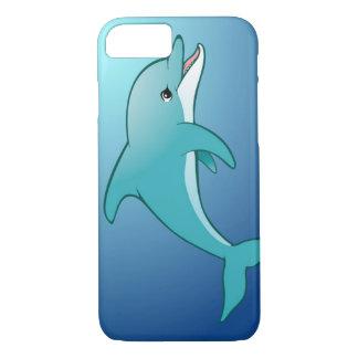 blauer Delphin iPhone 7 Kasten iPhone 8/7 Hülle