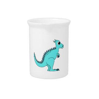 Blauer Dinosaurier Getränke Pitcher