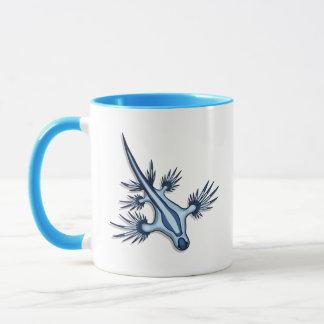 Blauer Drache Nudibranch Tasse
