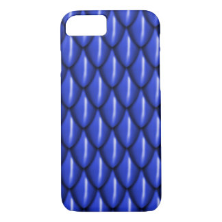 Blauer Drache-Skala-Telefon-Kasten iPhone 8/7 Hülle